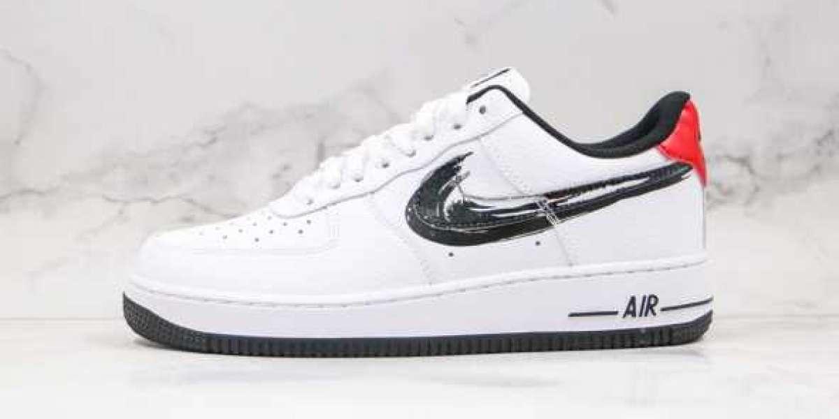 Will You Cop Nike Air Force 1 Low Brushstroke Swoosh ?
