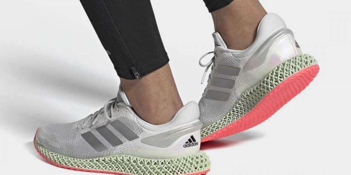 2020 Adidas 4D Run 1.0 Cloud White Signal Pink