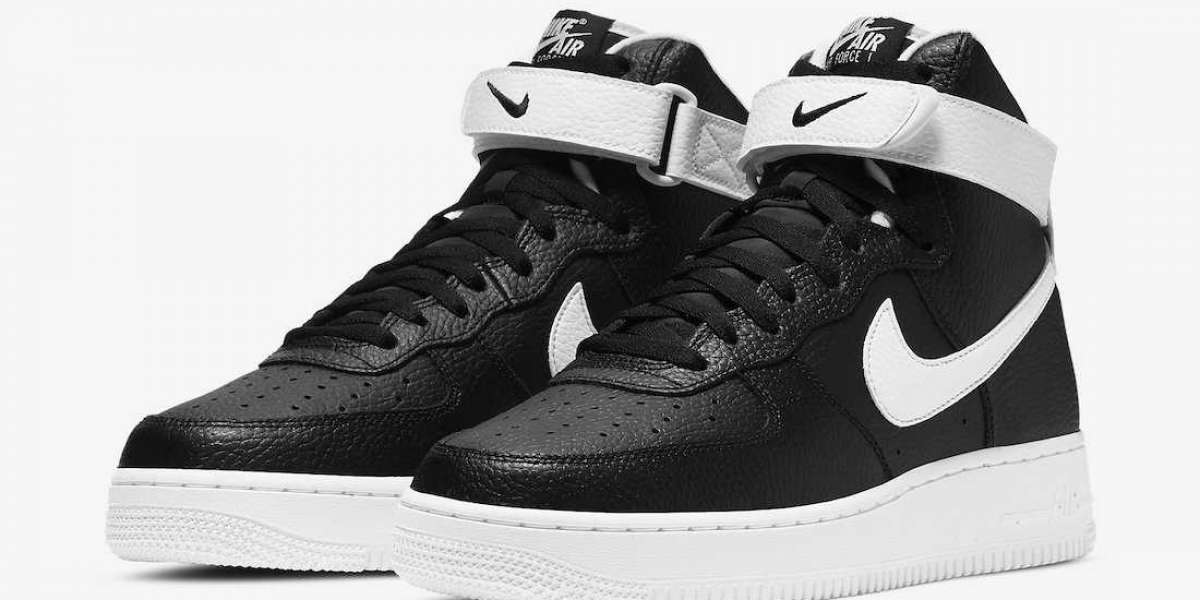 "Brand New Nike Air Force 1 High ""Black/White"" CT2303-002"