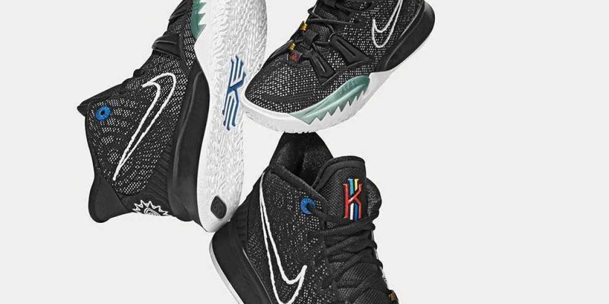 Nike Kyrie 7 EP Black/Off Noir/Chile Red/White CQ9327-002 Cheap For Sale