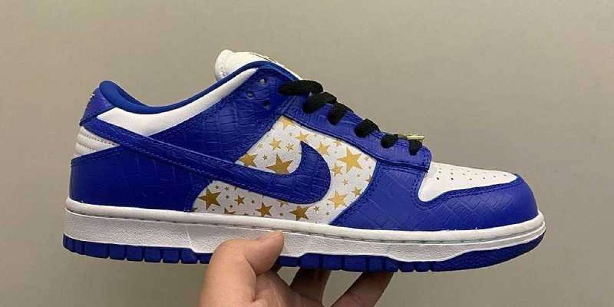 The latest photos of Supreme x Dunk SB DH3228-100 are exposed!