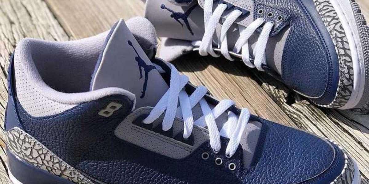 Jordan Air Jordan 3 Midnight CT8532-401 sneakers out of the box!