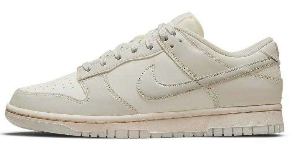 Latest Nike Dunk Low is Releasing With a Clean Sail Light Bone Colorway