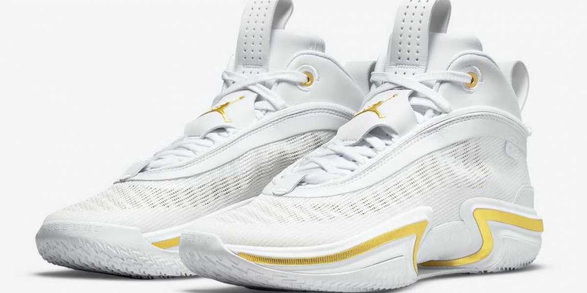 "Brand New Air Jordan 36 ""White Gold"" DJ4482-100 will coming"