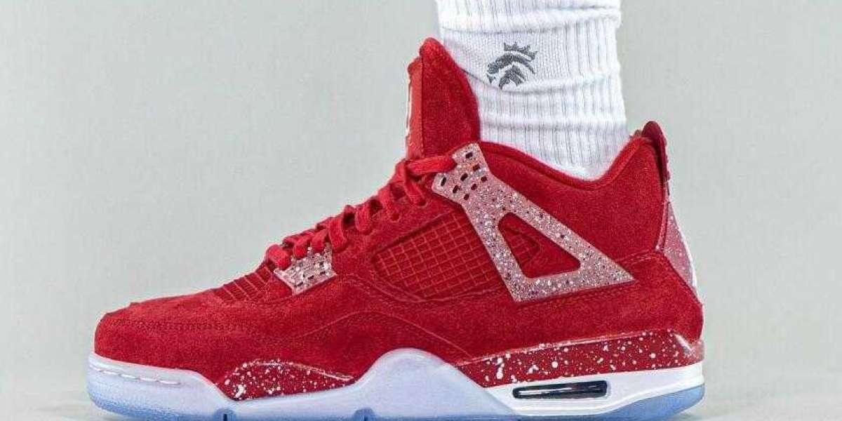 Air Jordan 4 Oklahoma Sooners PE Look Awesome On Feet